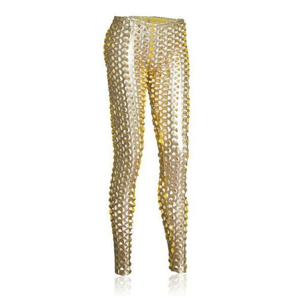 Golden stylish leggings. Артикул: IXI35394