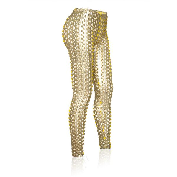 Golden stylish leggings. Артикул: IXI35394