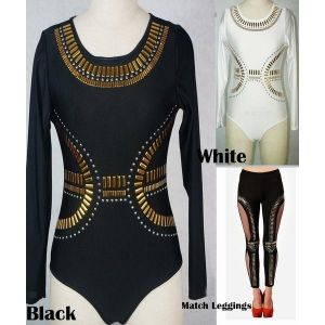 SALE! Stylish bodysuit black