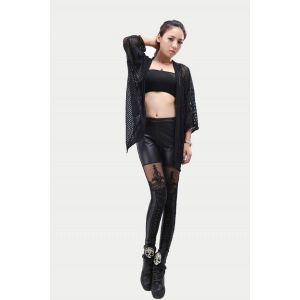 SALE! Gothic legginsy with imitation lacing