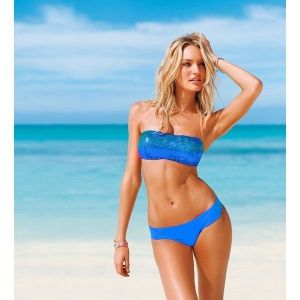 SALE! Shiny blue swimsuit
