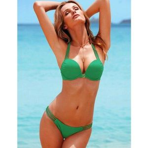 РАСПРОДАЖА! Классический зеленый купальник - Купальники