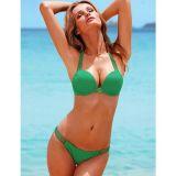 РАСПРОДАЖА! Классический зеленый купальник по оптовой цене