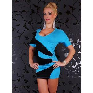 SALE! Two-tone dress. Артикул: IXI35624