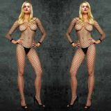 Mesh jumpsuit outright