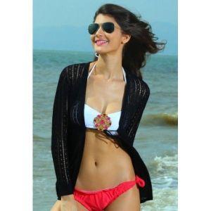 Черная накидка - Пляжная одежда