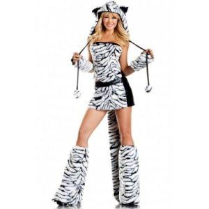 Костюм карнавальный - Белый тигр - Карнавальные костюмы