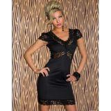 Облегающее черное платье по оптовой цене