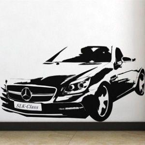 SALE! Vinyl decal - Mercedes