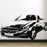 SALE! Vinyl decal - Mercedes
