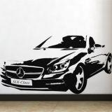 РАСПРОДАЖА! Виниловая наклейка - Автомобиль Mercedes по оптовой цене