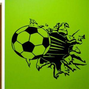 SALE! Vinyl decal - Soccer ball