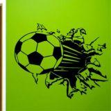 РАСПРОДАЖА! Виниловая наклейка - Футбольный мяч