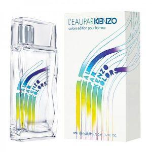 SALE! Toilet water, perfume Kenzo - LEau par Kenzo Colors Edition pour homme, 100ml