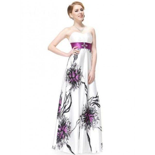 Вечернее платье без бретель