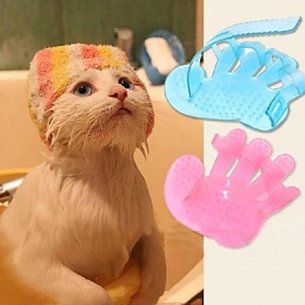 Мочалка для собак и кошек в форме лапы