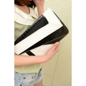 Черно-белый клатч - Клатчи, сумки