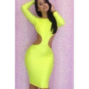 Платье - Леди салатовое