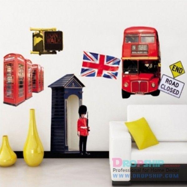 Виниловая наклейка - Великобритания - Англия - Лондон