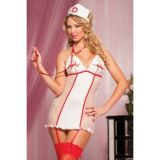 Costume - Nurse with garters
