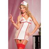 Costume - Nurse with garters