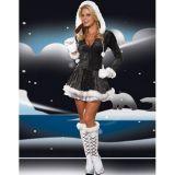 Черный рождественский костюм