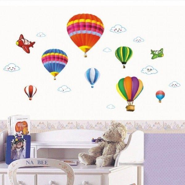Виниловая наклейка - Воздушные шары с облочками