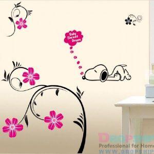РАСПРОДАЖА! Виниловая наклейка - Baby sweet dream - Интерьер, декор