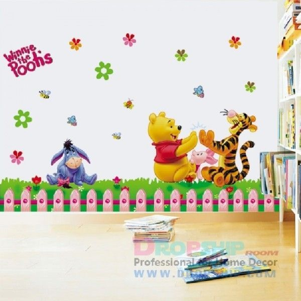 Виниловая наклейка - Winnie the poohs