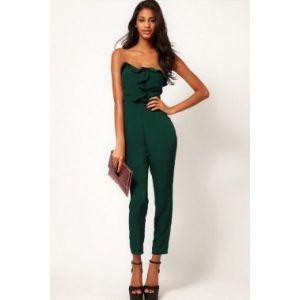 Green jumpsuit. Артикул: IXI37446