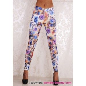 Leggings - Flower Garden