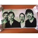 РАСПРОДАЖА! Постер Foo Fighters