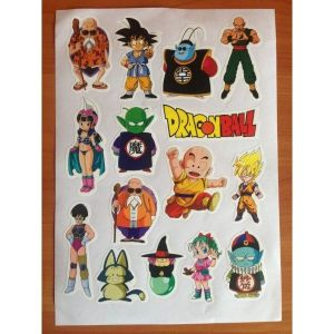 SALE! The lights, set of labels Dragonball
