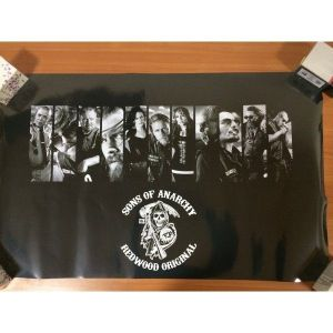 SALE! Poster Sons of anarchy. Артикул: IXI38278