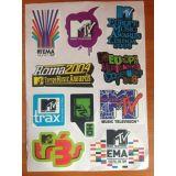 РАСПРОДАЖА! Стикербомбинг, набор наклеек MTV. Music awards по оптовой цене