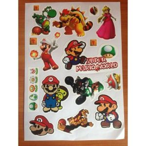 SALE! The lights, set of stickers, Super Marip World