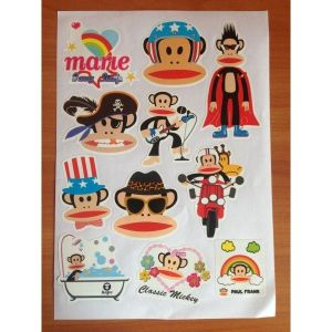 SALE! The lights, the sticker set Classic Mickey