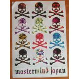 SALE! The lights, set of stickers Mastermind Japan