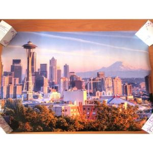 SALE! Poster cityscape on photo paper