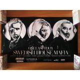 РАСПРОДАЖА! Постер Swedish House Mafia по оптовой цене