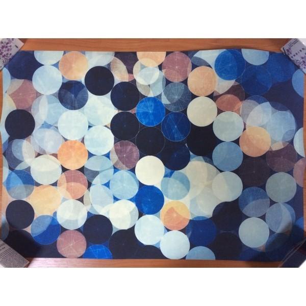 РАСПРОДАЖА! Постер Синие шары