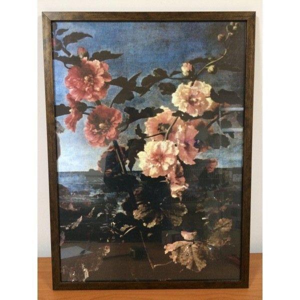 РАСПРОДАЖА! Картина Цветы на фотобумаги