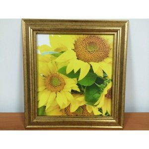 SALE! The picture of the canvas in frame Sunflowers. Артикул: IXI38364