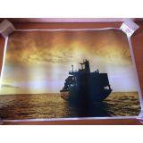 РАСПРОДАЖА! Постер Корабль по оптовой цене