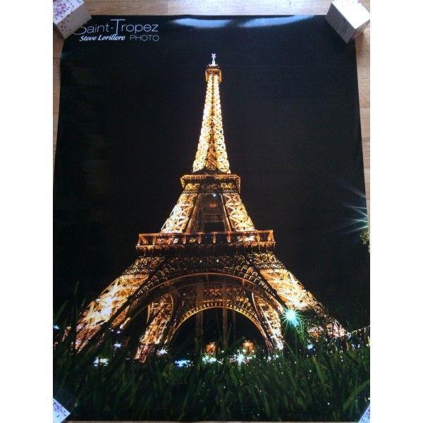 РАСПРОДАЖА! Постер Эйфелева башня на фотобумаге