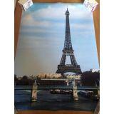 РАСПРОДАЖА! Постер Эйфелева башня по оптовой цене
