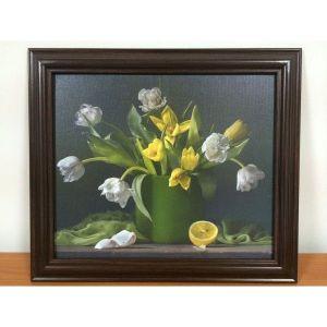 SALE! Painting Flowers on canvas. Артикул: IXI38395