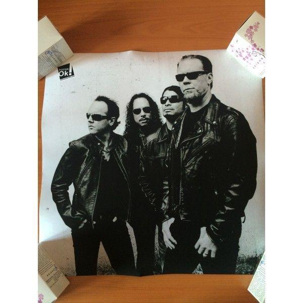 РАСПРОДАЖА! Постер Metallica