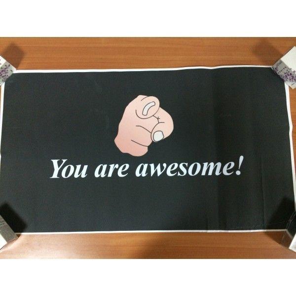 РАСПРОДАЖА! Наклейка You are awesome