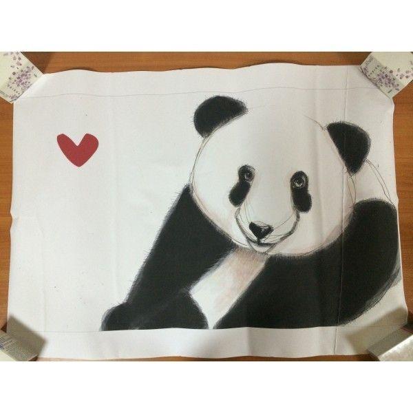 РАСПРОДАЖА! Наклейка Панда